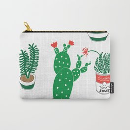 Illustrated Cactii Carry-All Pouch