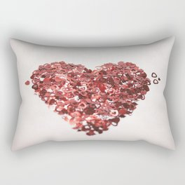 My Confetti Heart Rectangular Pillow
