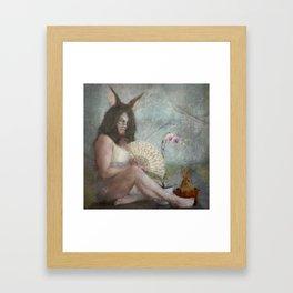 The Easter Bunny...  Framed Art Print