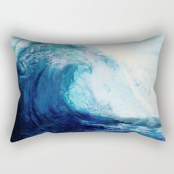 Waves II Rectangular Pillow