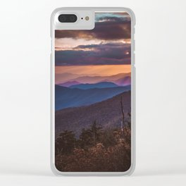 Clingman's Dome Clear iPhone Case