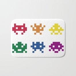 8BIT LGBT DESIGN MONSTER GAME Bath Mat