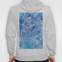 Ice Abstraction Hoody