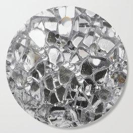 Silver Mirrored Mosaic Cutting Board