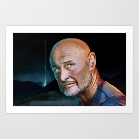 Lost...John Locke Art Print