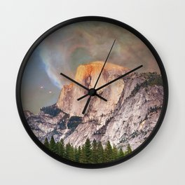 Yosemite Magic Wall Clock