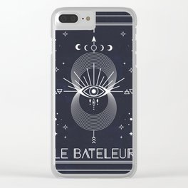 The Magician or Le Bateleur Tarot Clear iPhone Case