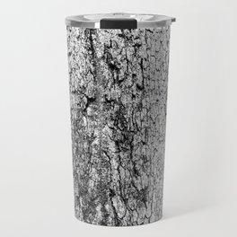 tree crotch in black and white Travel Mug