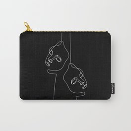 Two faced Carry-All Pouch