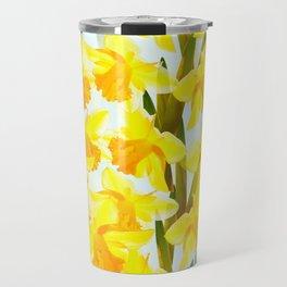 Spring Breeze With Yellow Flowers #decor #society6 #buyart Travel Mug