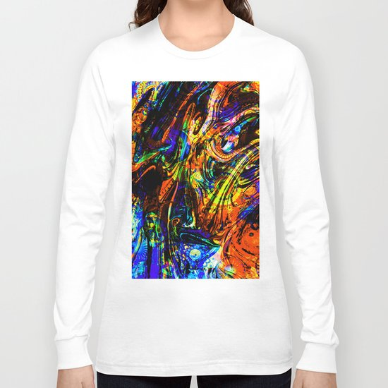 abstract waves ii Long Sleeve T-shirt
