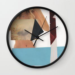 Woman, Censored Wall Clock