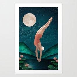 dive Art Print