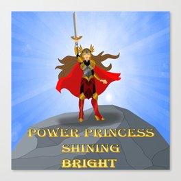 Power Princess Canvas Print