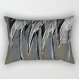 Loneliness Fears 34 Rectangular Pillow