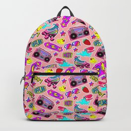 Back to the nineties! Peach Backpack