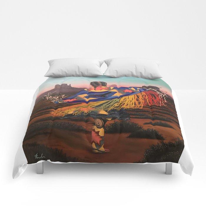 Shaw Dancer #3 Comforters