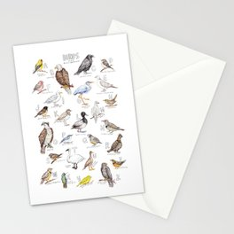 Birds of the Pacific Northwest Stationery Cards