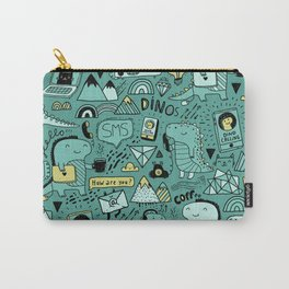Communication Dinosaurs Carry-All Pouch