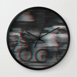 Cycling Race II Wall Clock