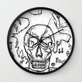 Basquiat The Art Legend Wall Clock