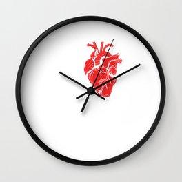 I Love Metal Music Rock And Roll Punk  Wall Clock
