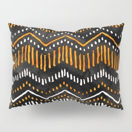 Handpainted Boho, Fall Pillow Sham