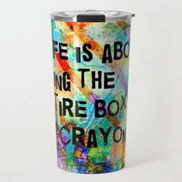 Crayon Box 2 Travel Mug