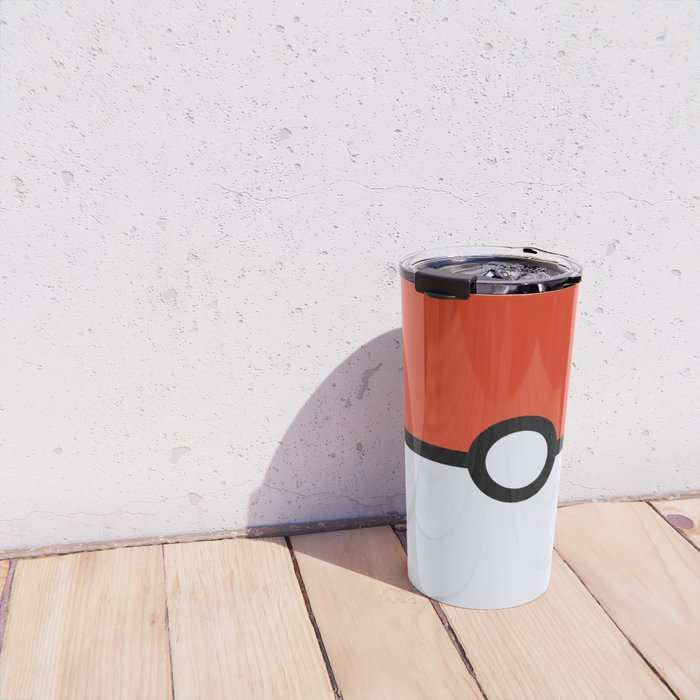 Pokeball Travel Mug