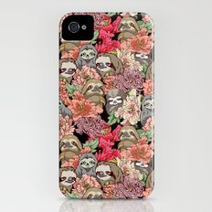 Because Sloths iPhone (4, 4s) Slim Case