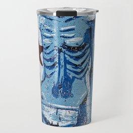 Love In America (Blue) Travel Mug