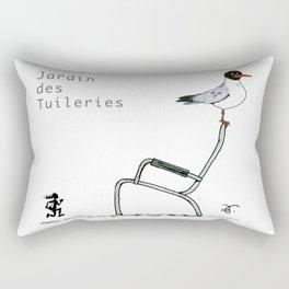 A Few Parisians: Jardin des Tuileries Rectangular Pillow