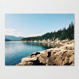 Otter Point - Acadia National Park, Maine Canvas Print