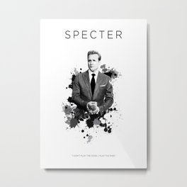 Certified Badass: Harvey Specter Metal Print