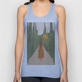 A Way Through the Cactus Field Unisex Tank Top