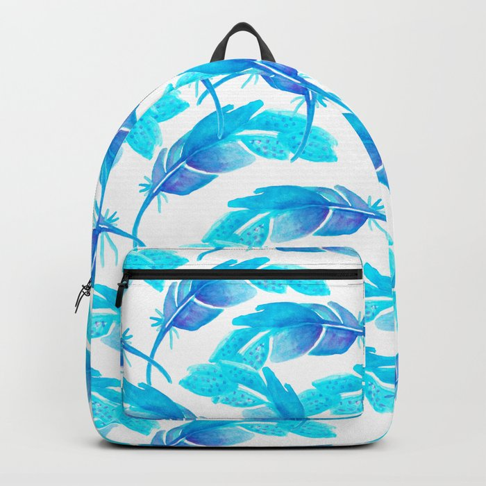 Feather Blush Backpack