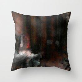 Aftermath Throw Pillow