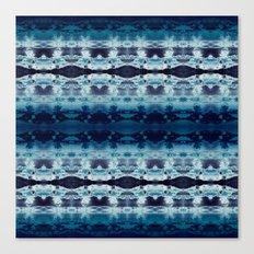 Boho Ombre' Blues Canvas Print