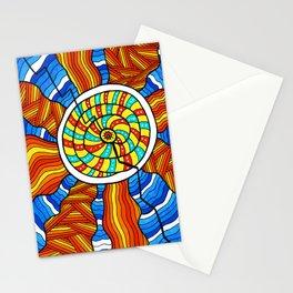 Sterinedda's sun Stationery Cards