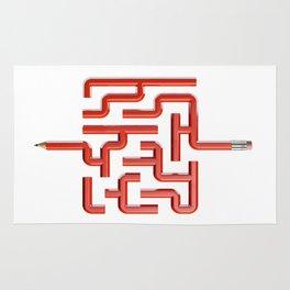 The Maze Writer Rug