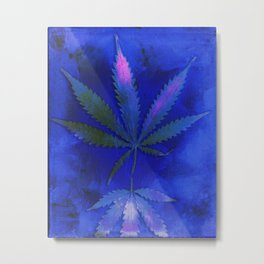 Hemp Lumen #2 Marijuana, Cannabis Metal Print