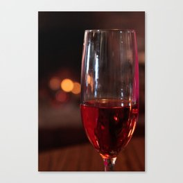 Wine Glass Canvas Print