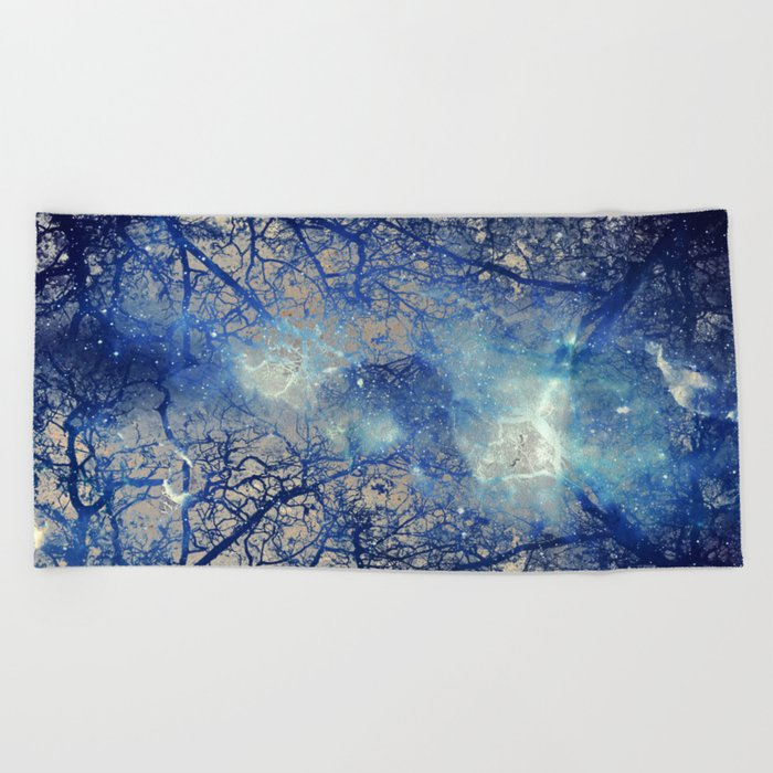 Winter Wood Beach Towel