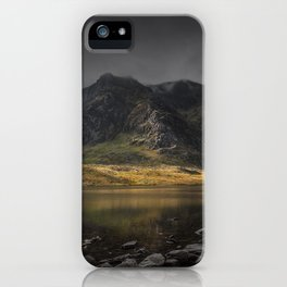 A Light in the Shadows iPhone Case