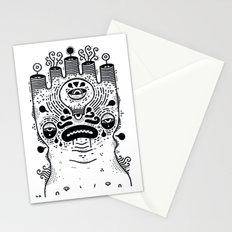 le sad boii Stationery Cards
