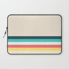 Candy Retro Stripe Laptop Sleeve