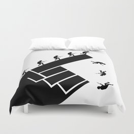 To the arms! Duvet Cover