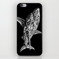bioworkz iPhone & iPod Skins featuring Great White by BIOWORKZ