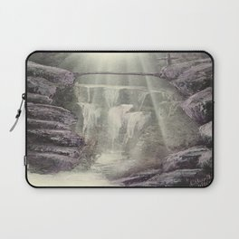 Purple Waterfall Laptop Sleeve