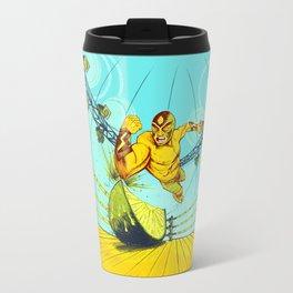 Luchador Lime Travel Mug